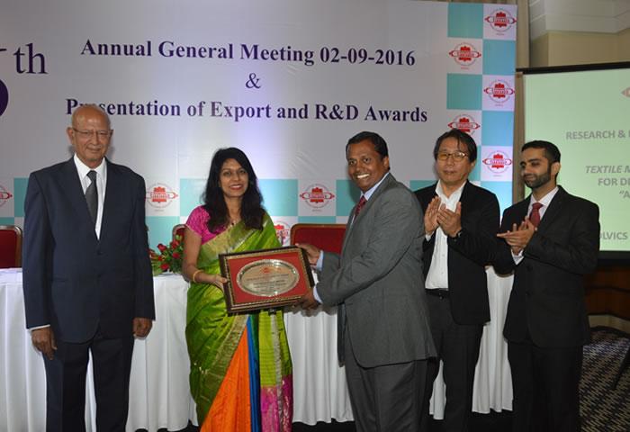 Best R & D Award for MAG